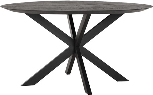 DTP Home Timeless Black eettafel Shape Ø150 cm