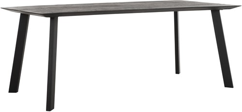 DTP Home Timeless Black eettafel Shape 200 cm