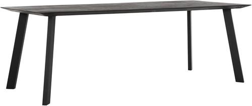 DTP Home Timeless Black Eettafel Shape 225 cm