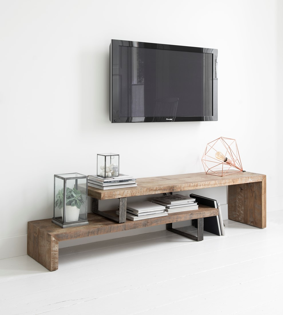Teak Kast Tv.D Bodhi Tv Stand Soul Extendable 160 Cm