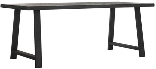 DTP Home Timeless Black eettafel A-team 200 cm