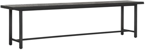 DTP Home Timeless Black eetkamerbank Beam 190 cm