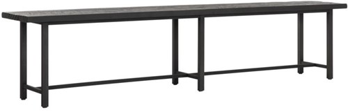 DTP Home Timeless Black eetkamerbank Beam 215 cm
