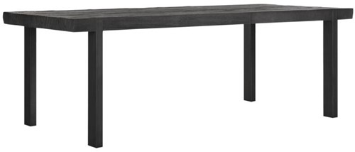 DTP Home Timeless Black eettafel Beam 225 cm