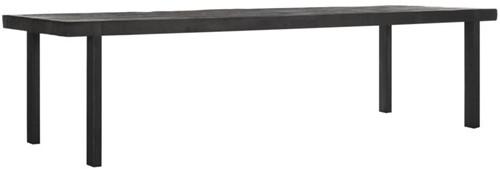 DTP Home Timeless Black eettafel Beam 300 cm