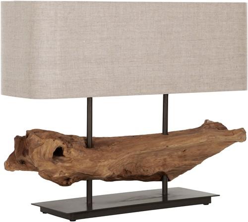 MUST Living tafellamp Log Erosion